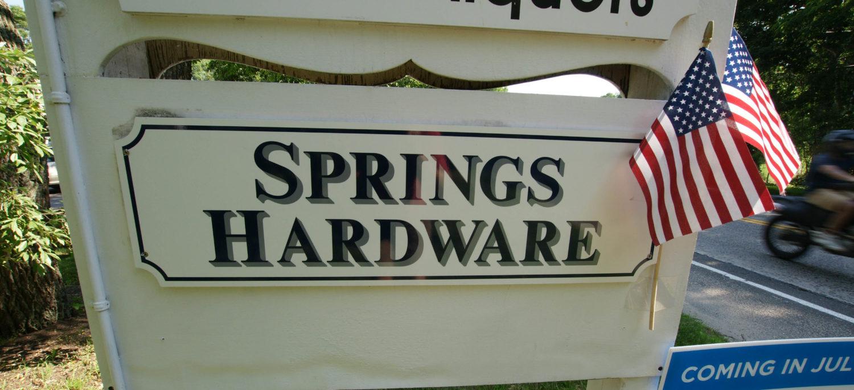 Springs Hardware